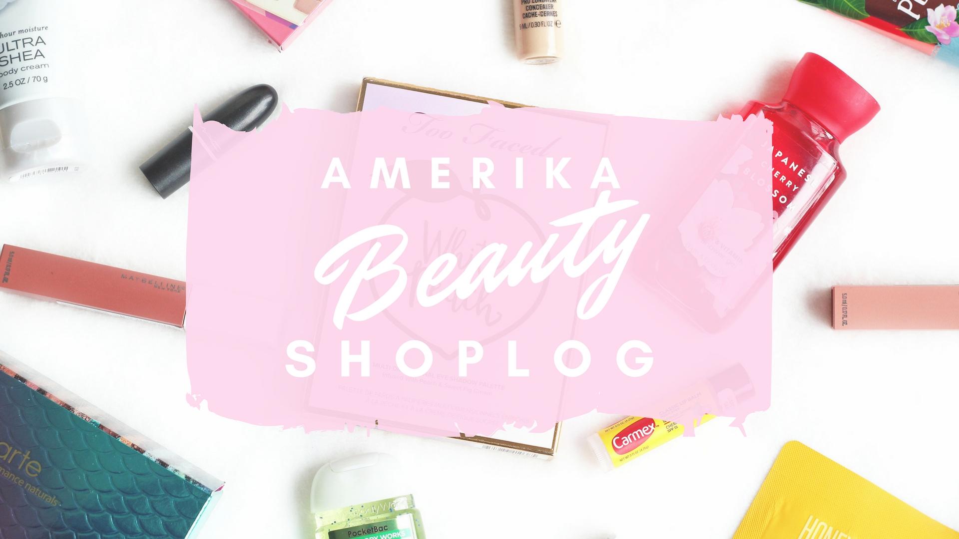 amerika beauty shoplog 2018
