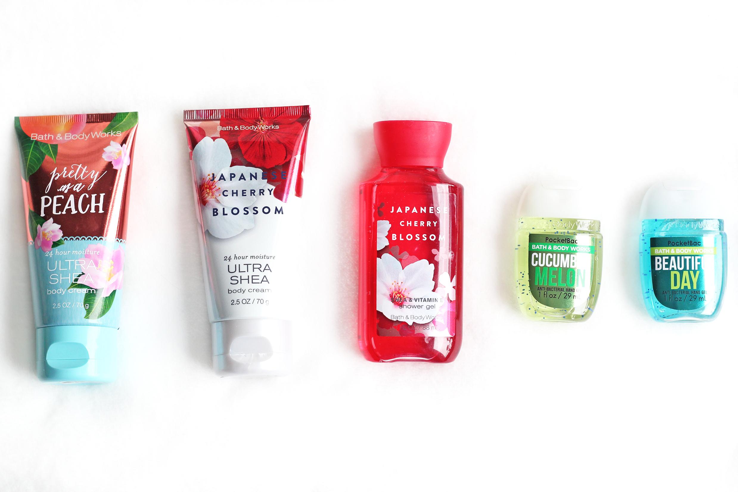 bath & body works shoplog amerika