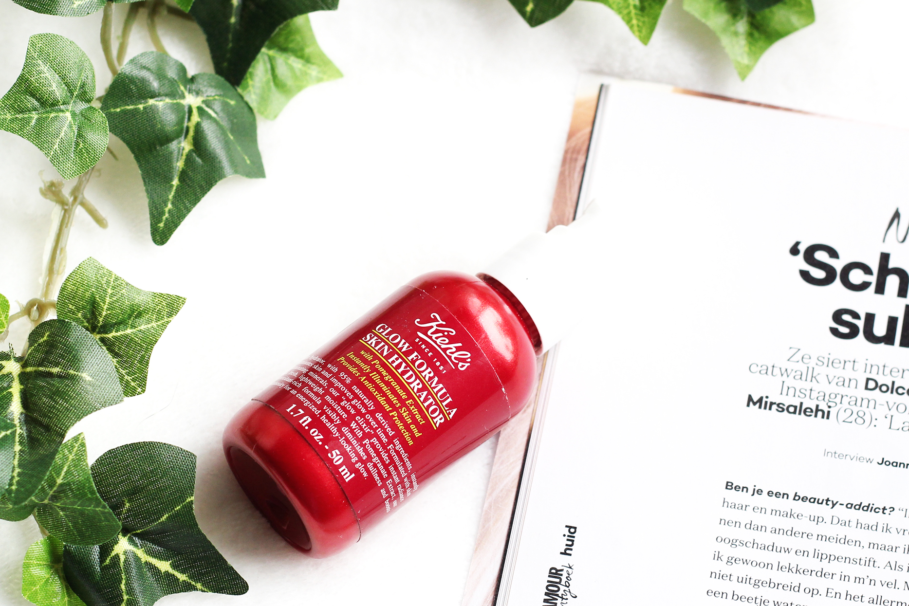 Kiehl's review glow formula