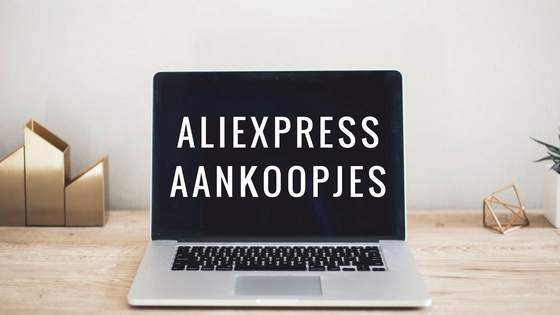 aliexpress aankoopjes