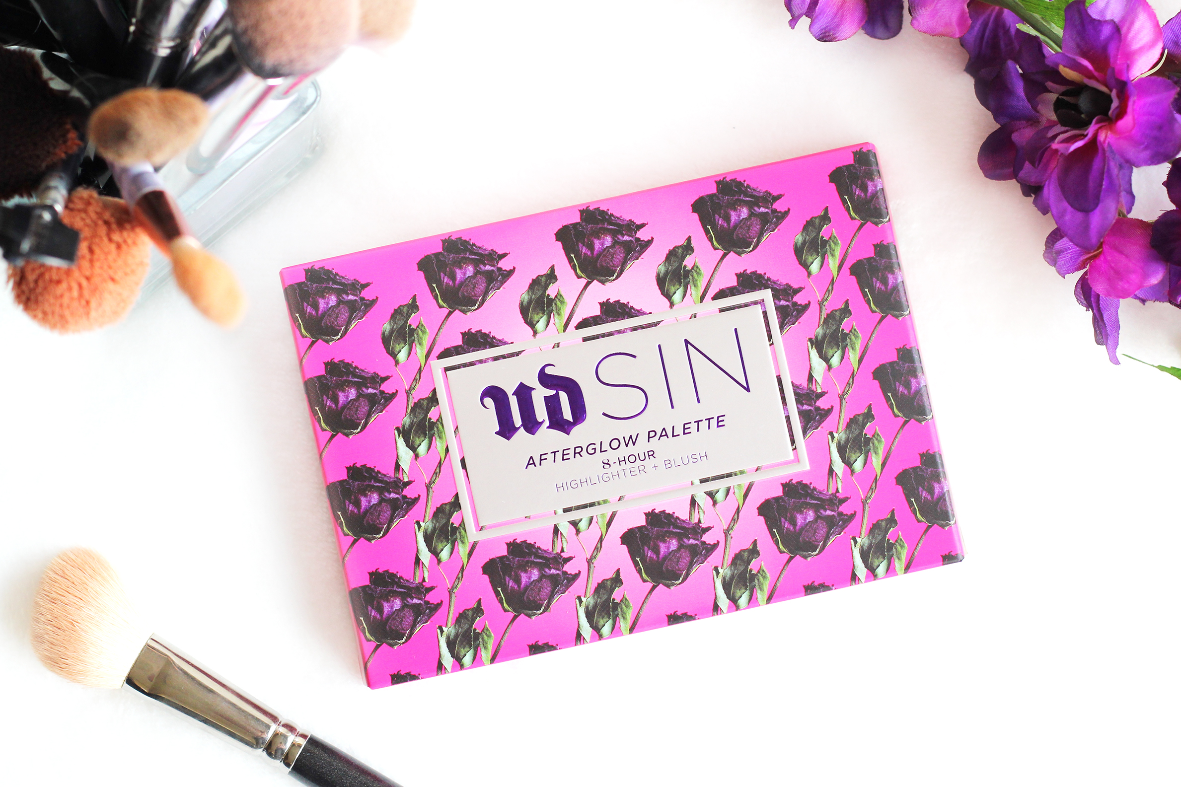 urban decay sin afterglow palette review