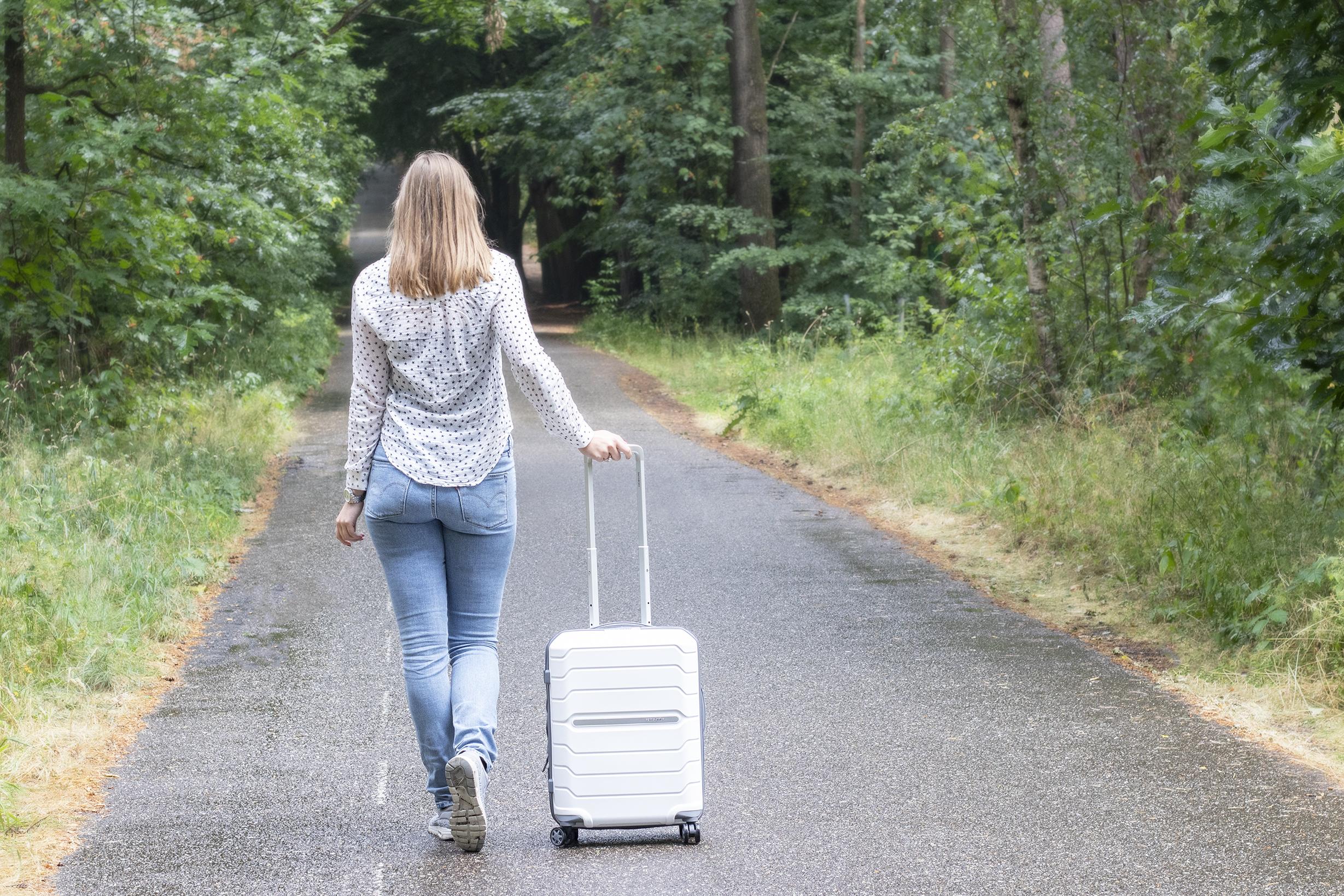 duifhuizen tassen en koffers handbagage koffer review
