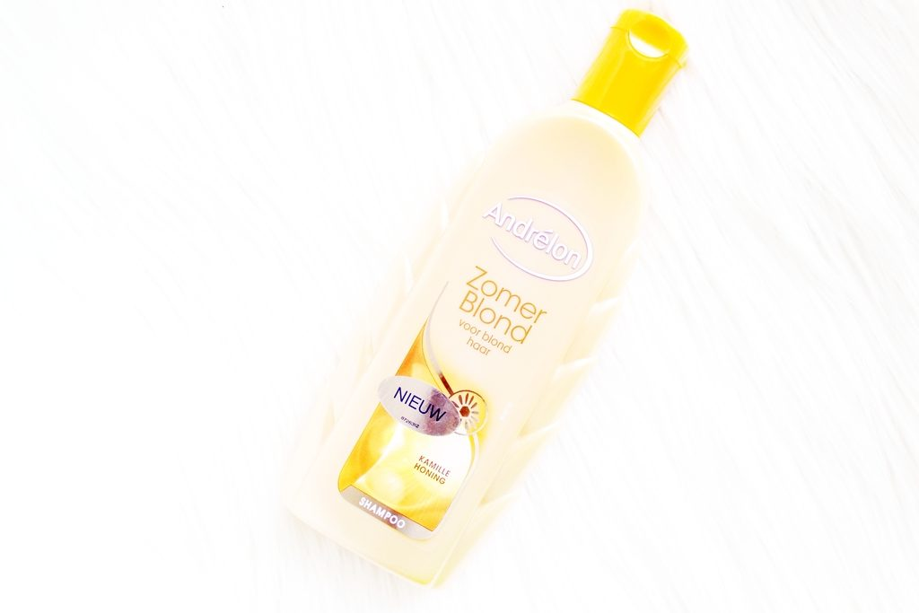 zomer blond shampoo en conditioner fles