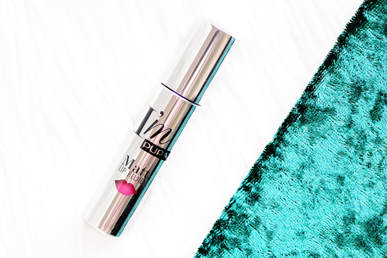 pupa matt lip fluid review