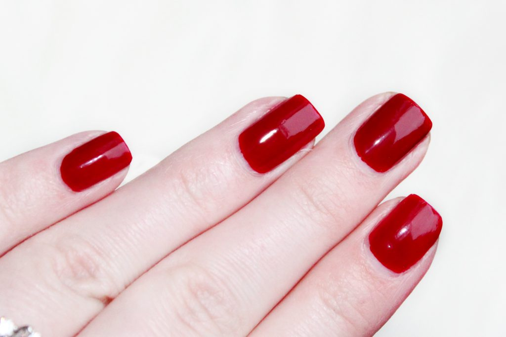 OPI amore at the grand canal swatch