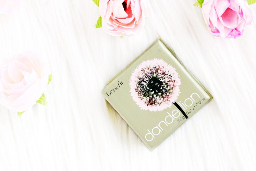 Benefit dandelion blush review