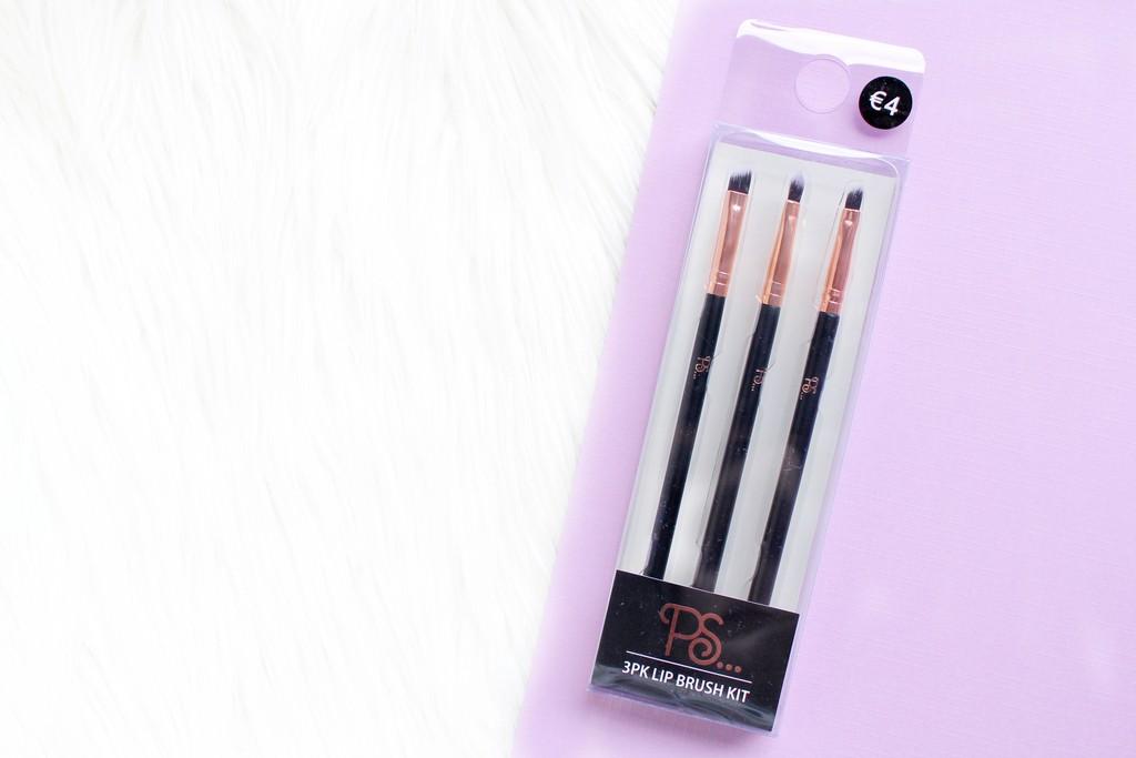 primark lip brush kit review