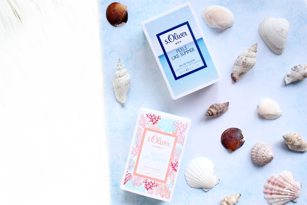 s. oliver feels like summer parfum review