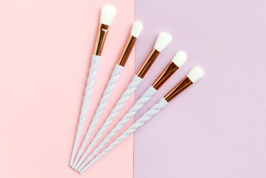 aliexpress unicorn brushes review