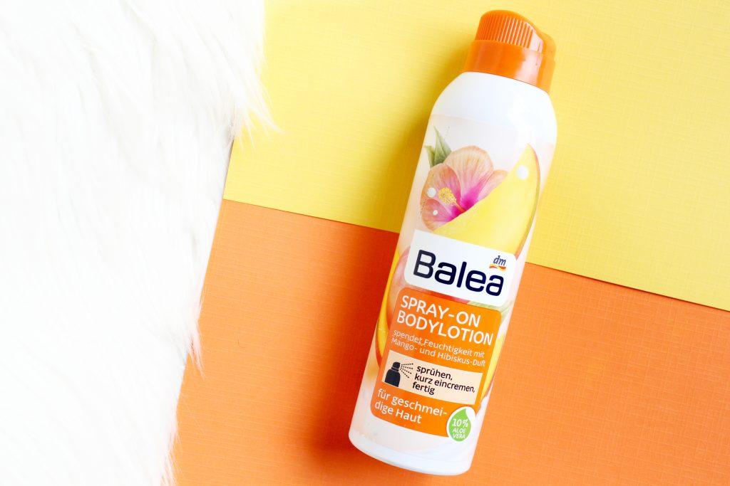balea spray on body lotion review