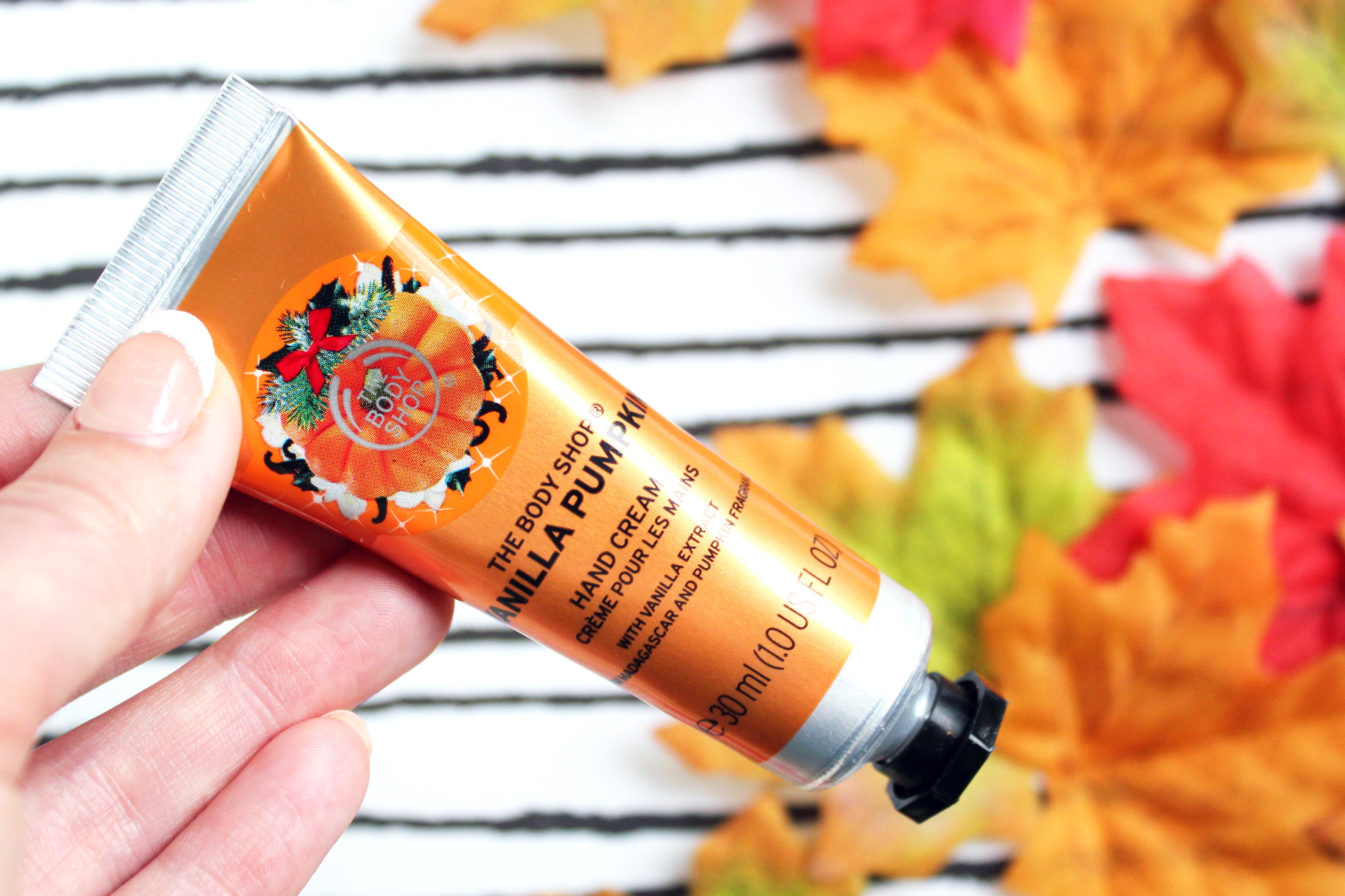 vanilla pumpkin handcrème review