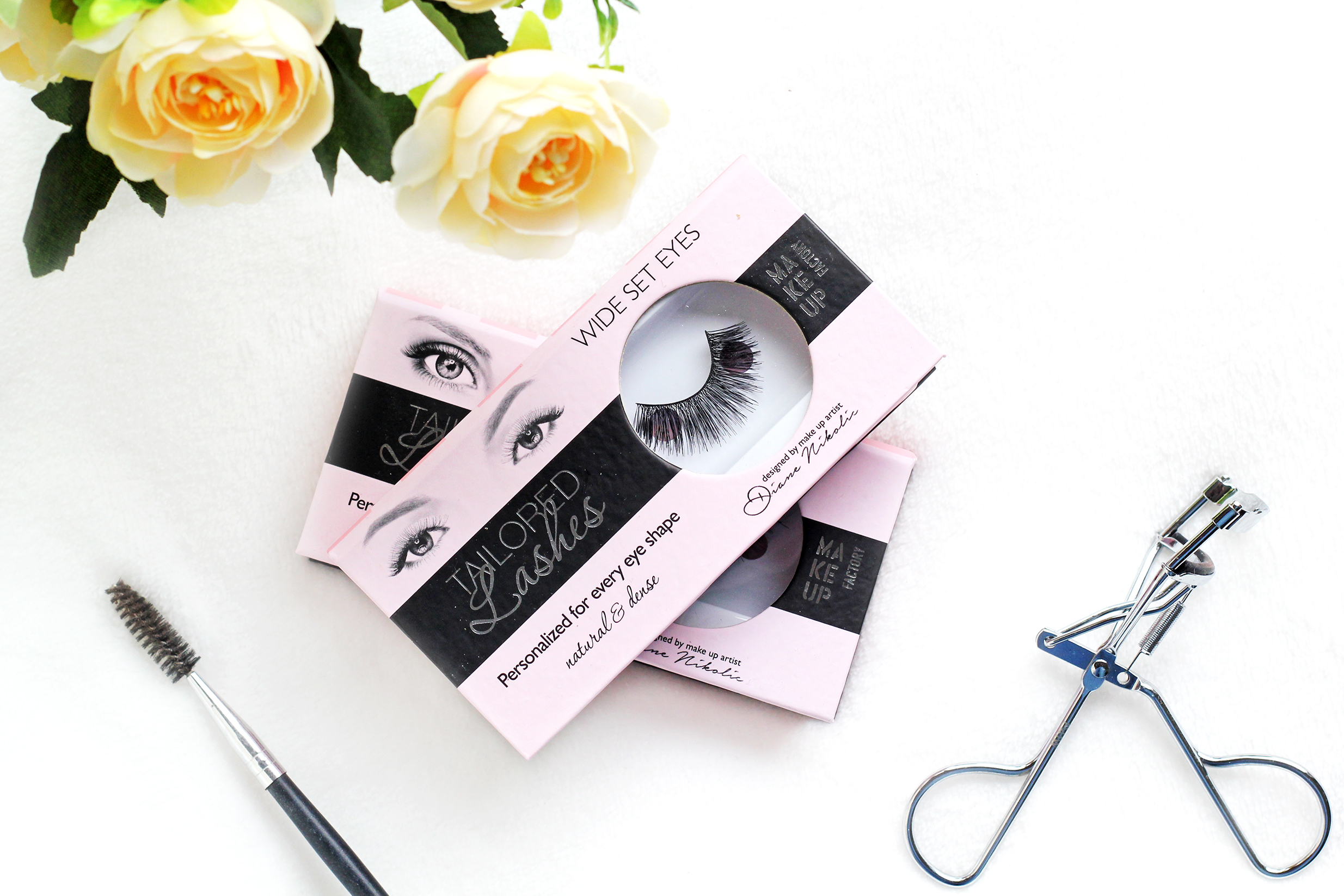 make up factory tailored lashes review