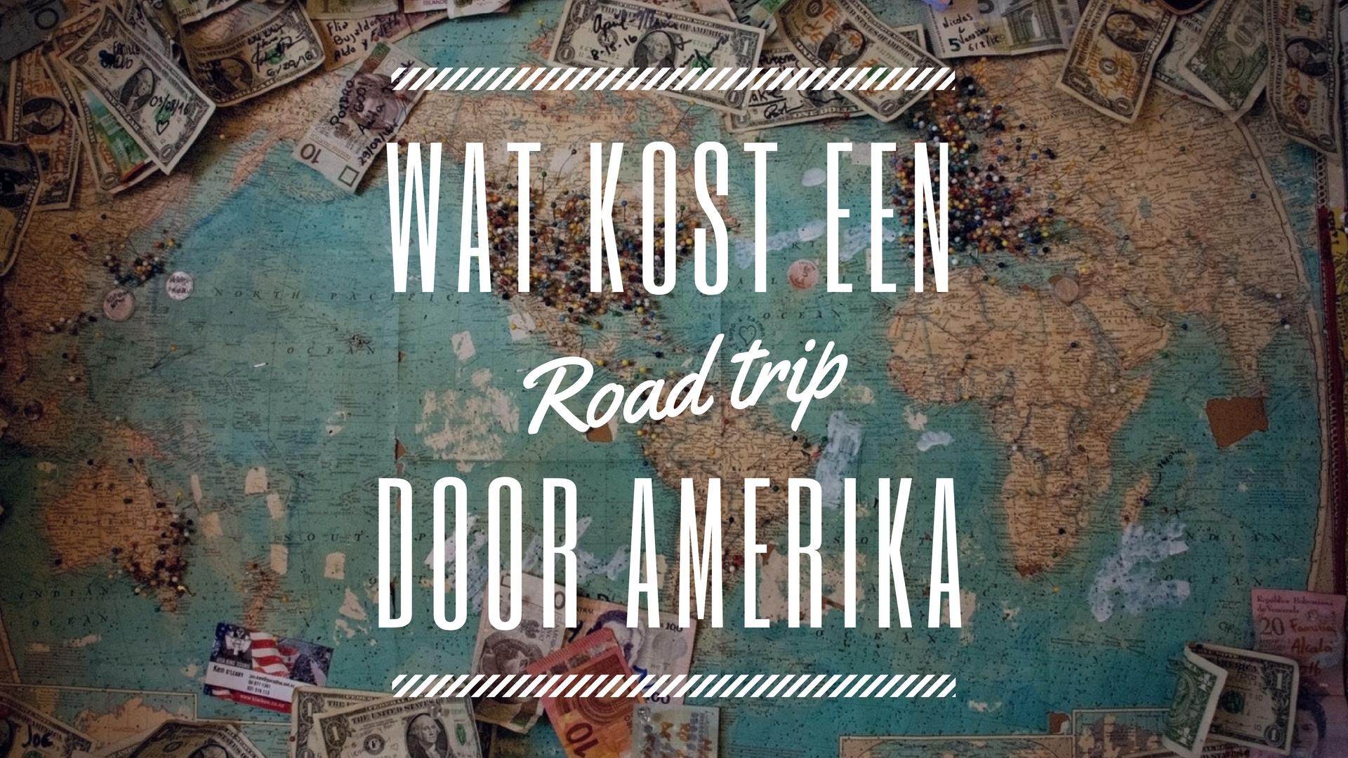 wat kost een road trip amerika 3 weken