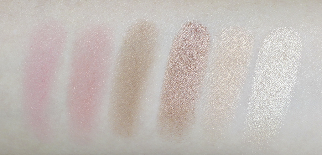 urban decay afterglow palette swatches
