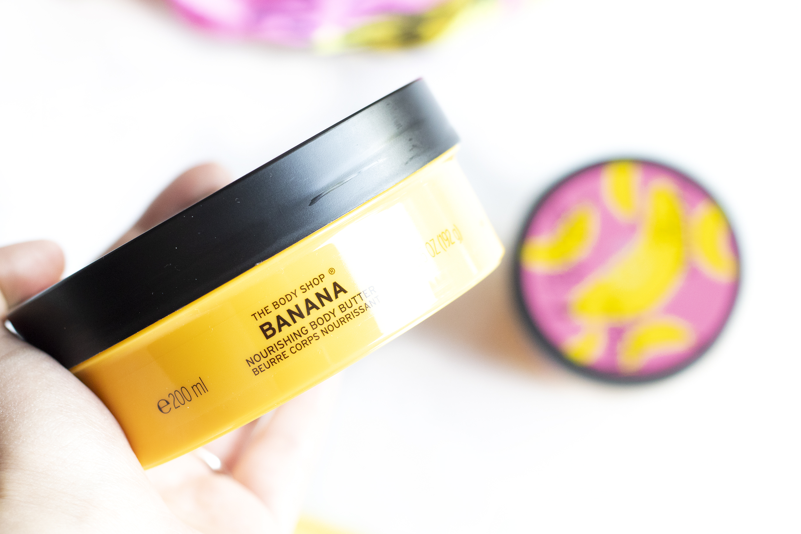 the body shop banana body butter