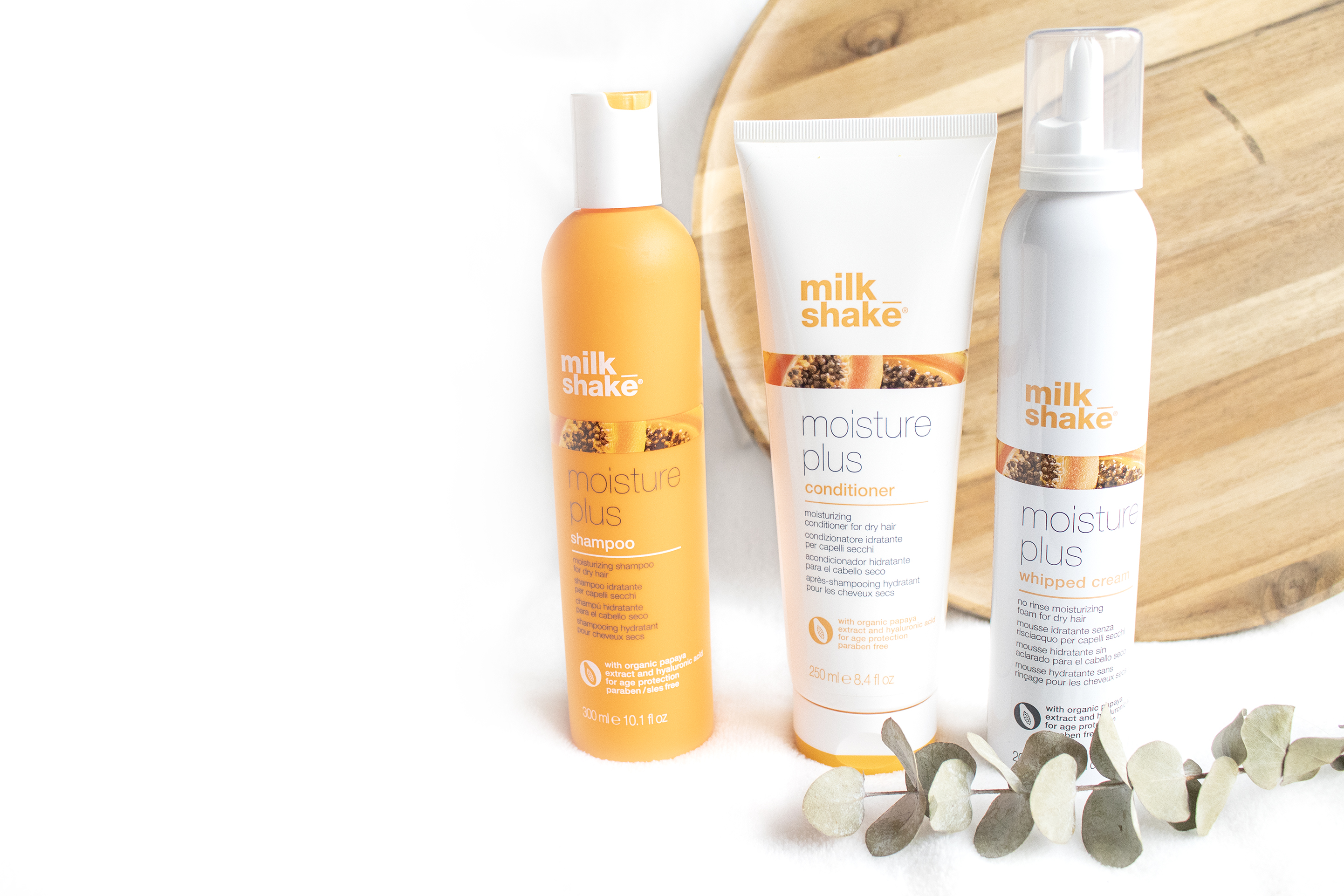 moisture plus milk shake haarproducten