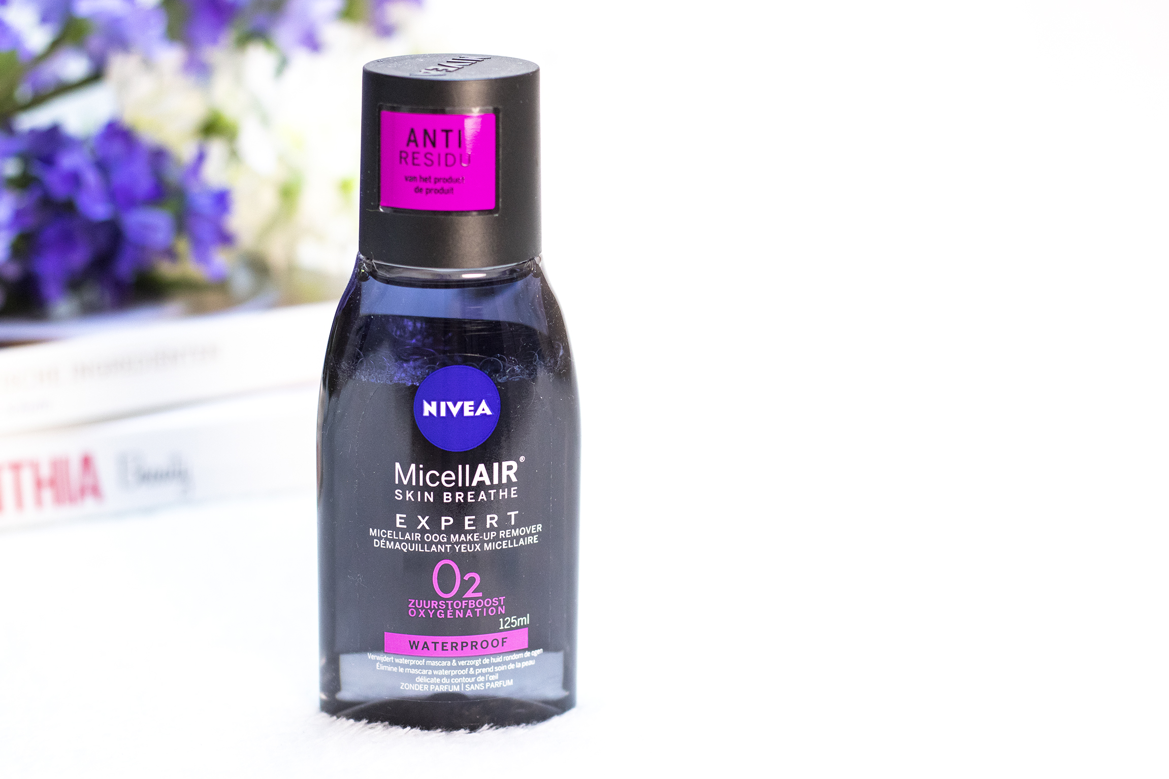 Nivea Micellair oog make-up remover review
