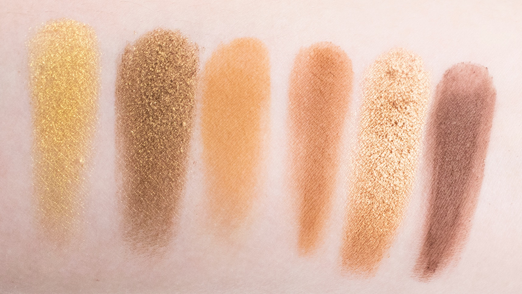 naked honey urban decay swatches
