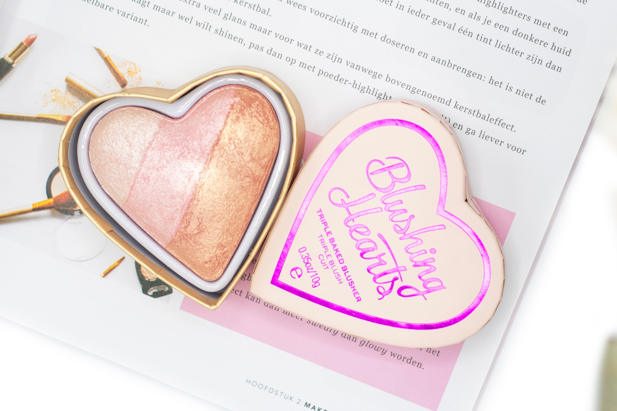 revolution blushing hearts review