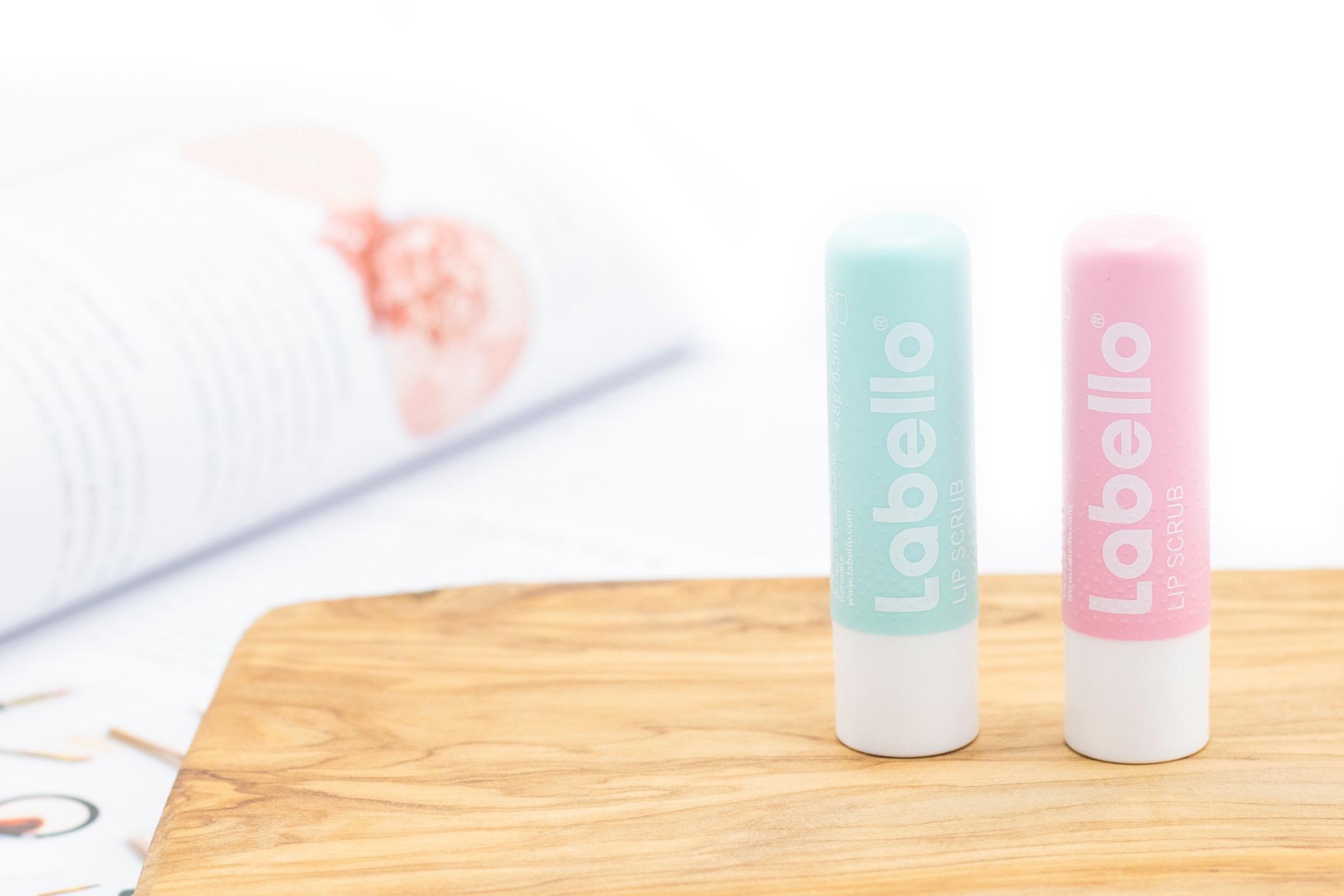 labello lipscrub  werking